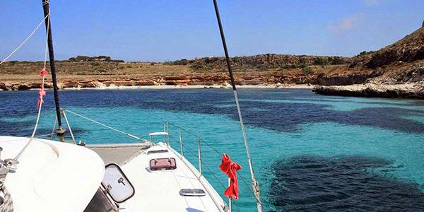 Cruise med katamaran