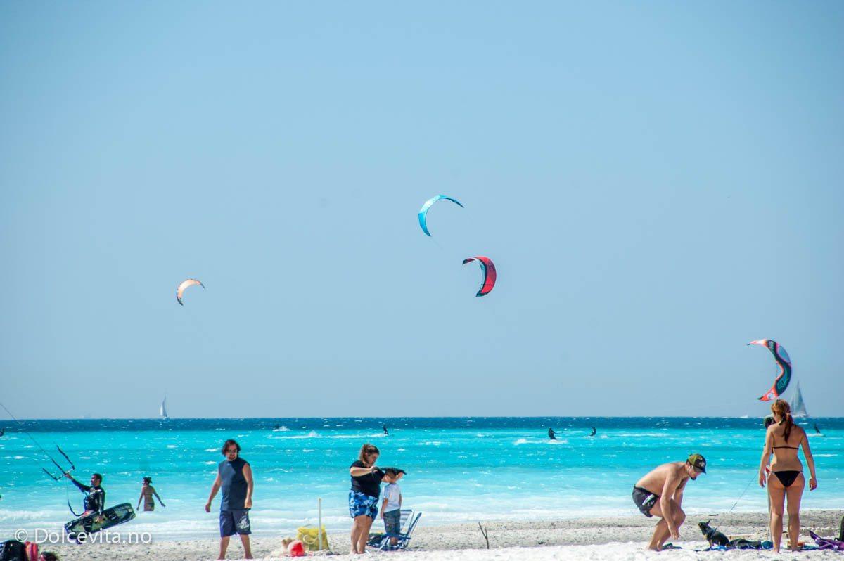 Kiting på Spiaggia Bianca - Dolcevita.no