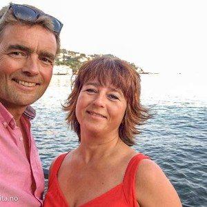 Anita og Kjetil i Dolcevita.no