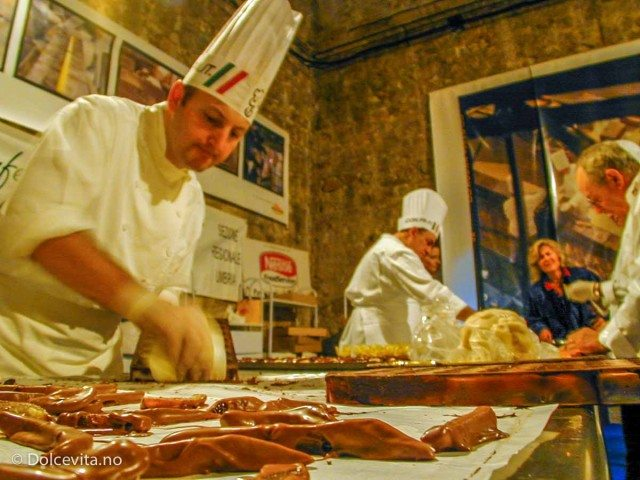 Perugia sjokoladefestival - Dolcevita.no
